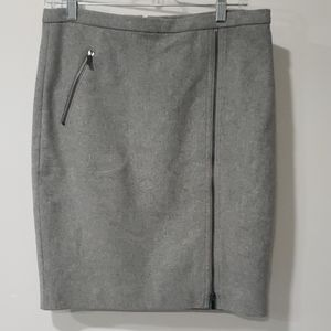 J.Crew pencil skirt with zipper detailing size 6